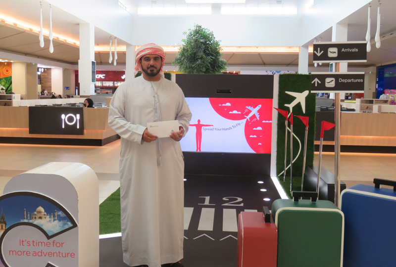 Majid Al Futtaim malls make shoppers' dream vacation a reality with Air Arabia tickets